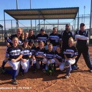 14U Cen Tex Batbusters 04- Final Four
