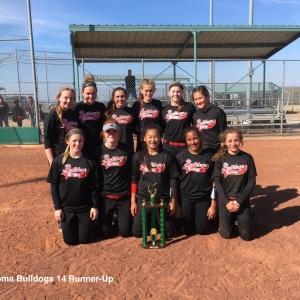 Oklahoma Bulldogs 14U Runner-Up