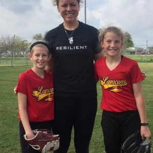 Keilani With 2 Pitchers